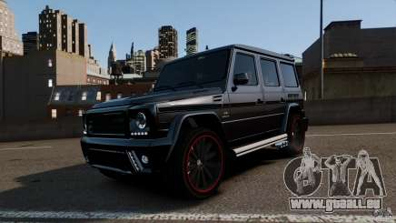 Mercedes Benz G55 AMG Aka Eurosport body kit für GTA 4