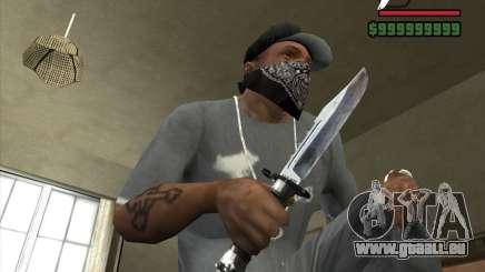 Das Messer von der Stalker Nr. 4 für GTA San Andreas