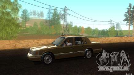 Lincoln Towncar 1991 pour GTA San Andreas