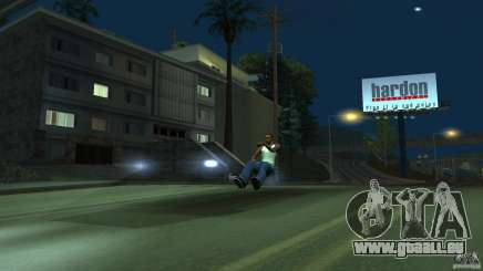Invisible Blista Compact pour GTA San Andreas