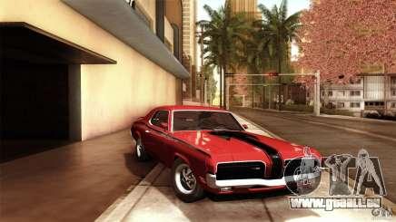 Mercury Cougar Eliminator 1970 pour GTA San Andreas