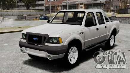 Ford Ranger 2008 XLR pour GTA 4