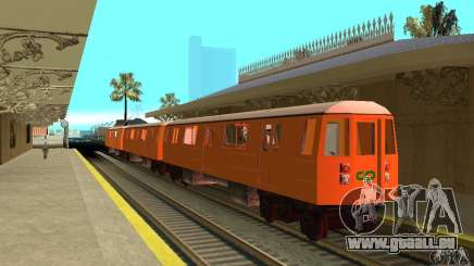 Liberty City Train CP pour GTA San Andreas
