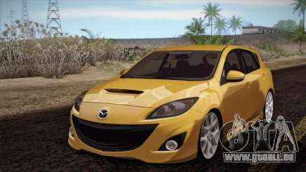 Mazda Mazdaspeed3 2010 pour GTA San Andreas