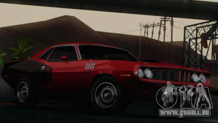 Plymouth Hemi Cuda 426 1971 pour GTA San Andreas