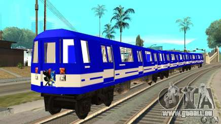Liberty City Train Sonic pour GTA San Andreas