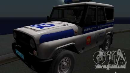 UAZ-315195 Hunter Police pour GTA San Andreas