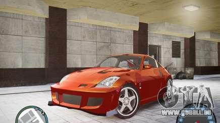 Nissan 350Z Z33 pour GTA 4