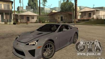 Lexus LFA 2010 pour GTA San Andreas