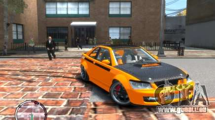 Sultan RS HD FreeStyle Team pour GTA 4