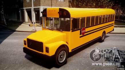 School Bus [Beta] pour GTA 4