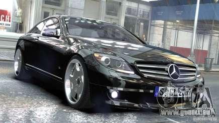 Mercedes-Benz CL65 SV12S Brabus 2012 pour GTA 4