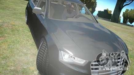 Audi A6 Avant Stanced für GTA 4