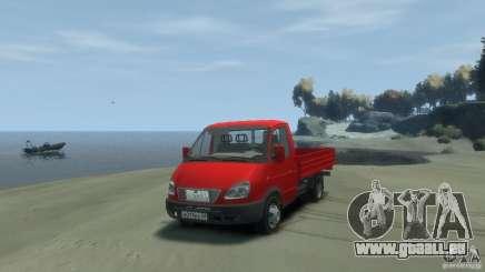GAZ 3302-14 (Gazelle à bord) pour GTA 4