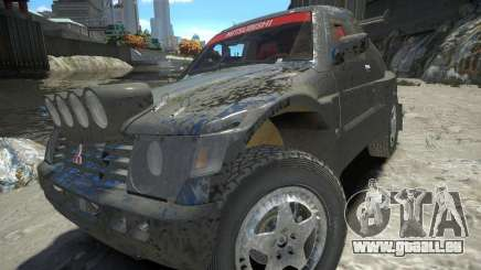 Mitsubishi Pajero Proto Dakar EK86 pour GTA 4