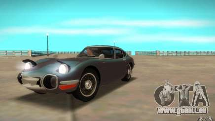 Toyota 2000GT 1969 pour GTA San Andreas