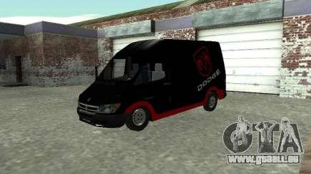 Dodge Sprinter Van 2500 pour GTA San Andreas