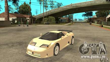 Bugatti EB110 SS 1992 für GTA San Andreas