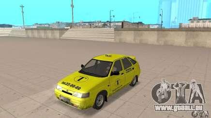 VAZ 21124 TAXI für GTA San Andreas