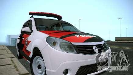 Renault Sandero Policia pour GTA San Andreas