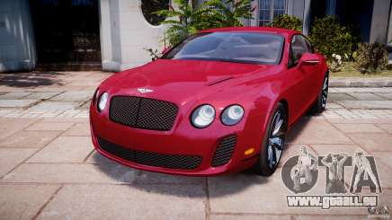 Bentley Continental SS v2.1 pour GTA 4