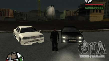Toyota Crown Tunable für GTA San Andreas