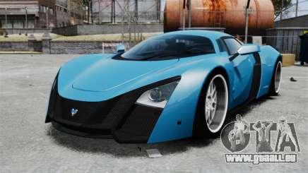 Marussia B2 pour GTA 4