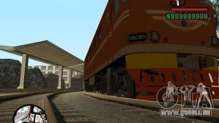 Lokomotive TEP-60 für GTA San Andreas