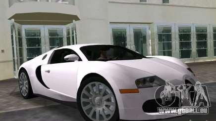 Bugatti Veyron EB 16.4 pour GTA Vice City