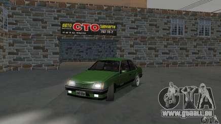 Chevrolet Monza SLE 2.0 1988 pour GTA San Andreas
