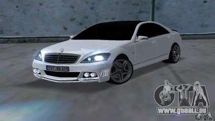 Mercedes-Benz S65 AMG Edition pour GTA San Andreas