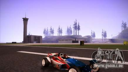 Track Mania Stadium Car für GTA San Andreas