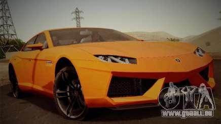 Lamborghini Estoque Concept 2008 für GTA San Andreas