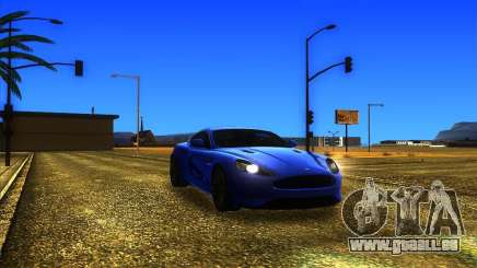 Aston Martin Virage 2011 Final pour GTA San Andreas