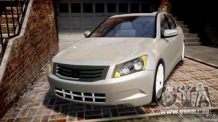 Honda Accord 2009 pour GTA 4