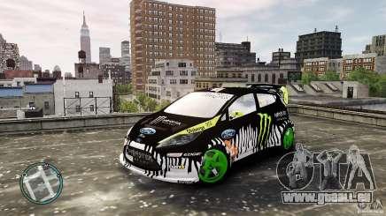 Ken Block Ford Fiesta 2011 pour GTA 4