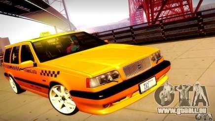 Volvo 850 R Taxi für GTA San Andreas