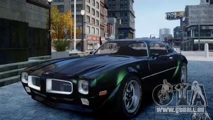Pontiac Firebird 1971 pour GTA 4