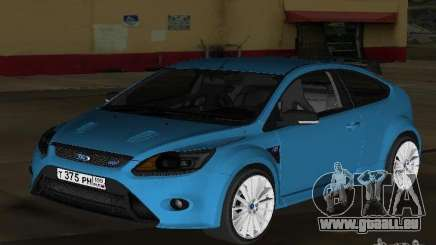 Ford Focus RS 2009 pour GTA Vice City