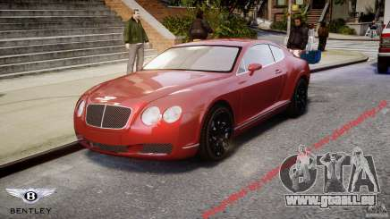 Bentley Continental GT 2004 pour GTA 4