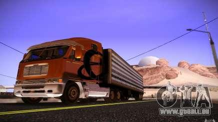 Freightliner Argosy pour GTA San Andreas