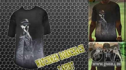 Watchmen Rorschach chemise pour GTA San Andreas