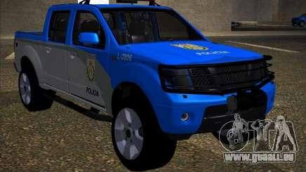 Nissan Frontier PMERJ pour GTA San Andreas