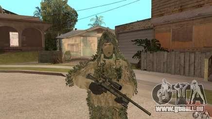 Sniper de peau pour GTA San Andreas