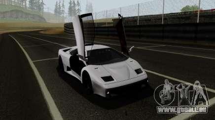 Lamborghini Diablo GTR TT Black Revel pour GTA San Andreas