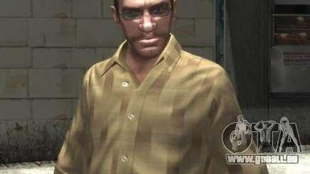 Neue Brille für Niko-hell für GTA 4