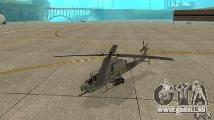 Hunter - AH-1Z Cobra für GTA San Andreas