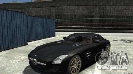 Mercedes-Benz SLS AMG 2011 v3.0 pour GTA 4