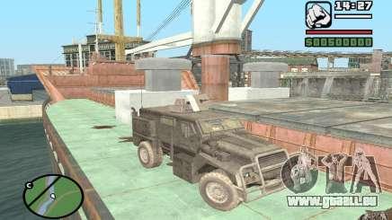 Camion militaire pour GTA San Andreas