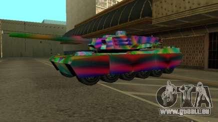 Eine fröhliche Farbe-tank für GTA San Andreas